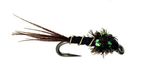 Skinny Nelson Flash Back Nymph,Dryflyonline,Wholesale Trout Flies, Discount Trout Flies