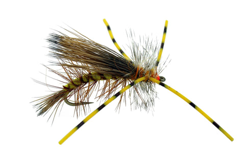 Stimulator Yellow, Rubber Legs Stimulator, Dryflyonline.com, Wholesale Flies