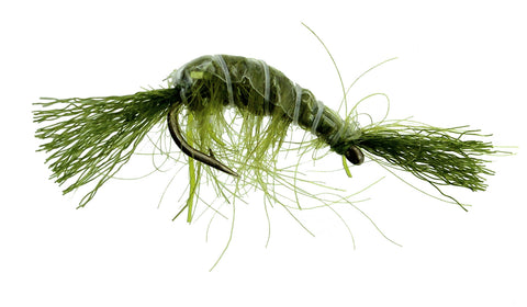 UV SCud Olive Dryflyonline.com Wholesale Discount Trout Flies