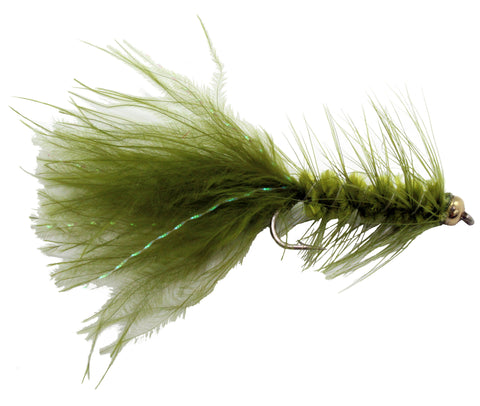 Bead Head Woolly Bugger Olive