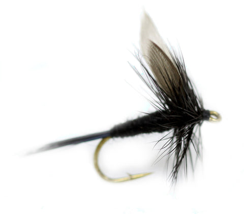 Black Gnat Dry Fly,Cheap Trout Flies, Discount Trout Flies,Fly Fishing Flies