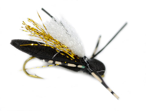 Cicida - Yellow Flash Foam Trout Fly