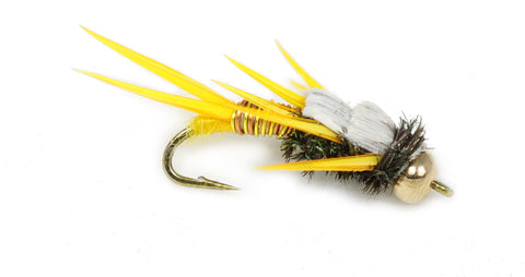 Golden Stone Fly Golden Stone Bead Head Wire Wrap Quality Trout Flies Wholesale Trout Flies