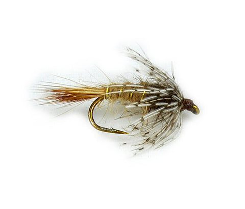 Red Fox Emerger Nymph Dryflyonline.com Samaki Flies Fly fishing Flies