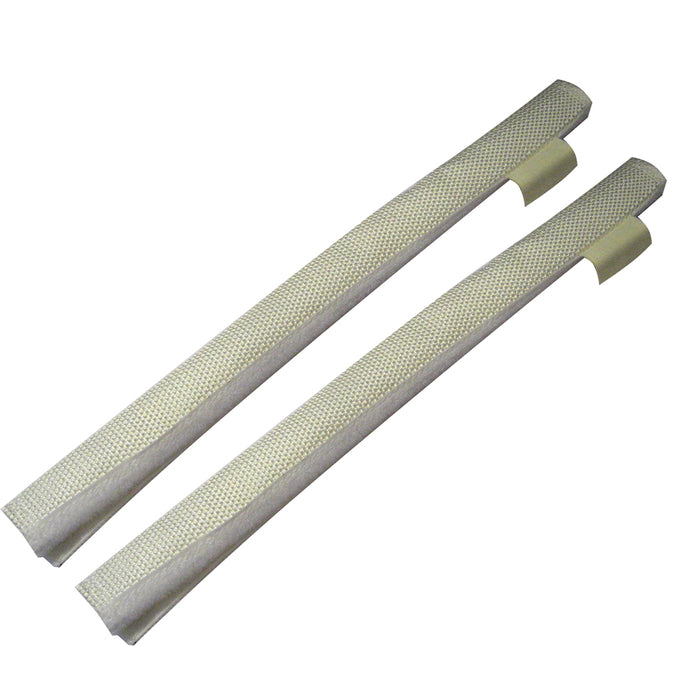 Davis Secure Removable Chafe Guards - White (Pair)