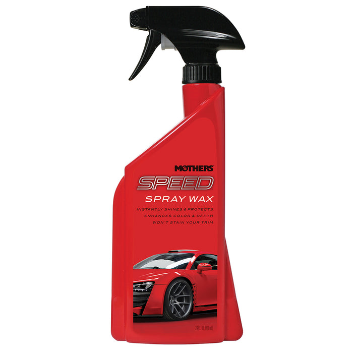 Mothers Speed Spray Wax - 24oz