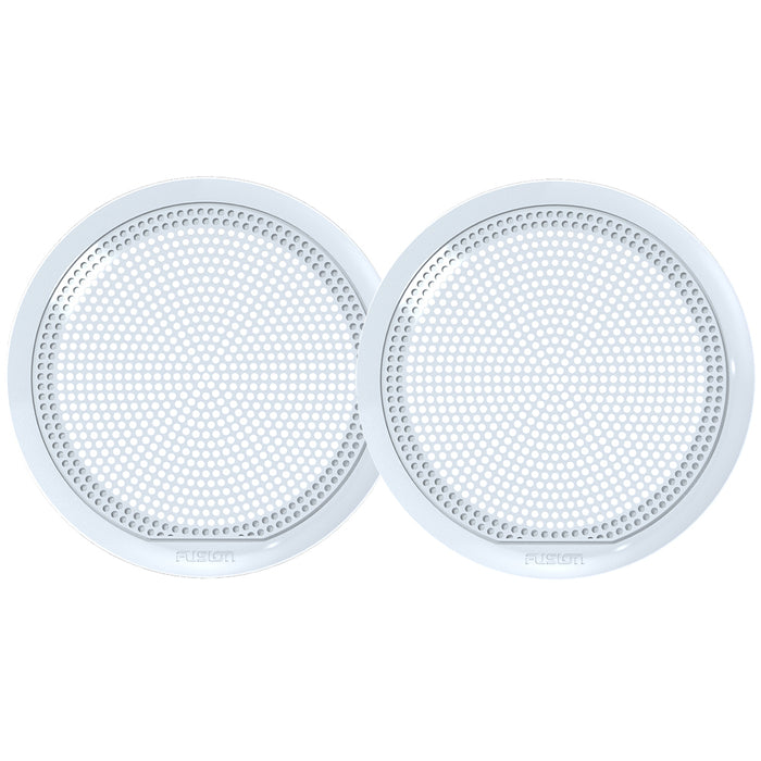 "FUSION EL-X651W 6.5"" Classic Grill Covers - White f- EL Series Speakers"