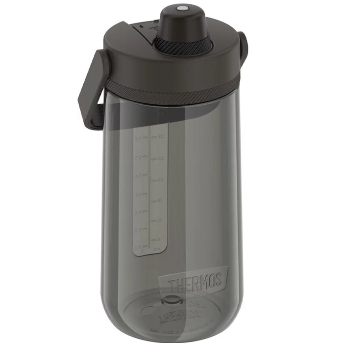Thermos Guardian Collection Hard Plastic Hydration Bottle w-Spout - 40oz - Espresso Black