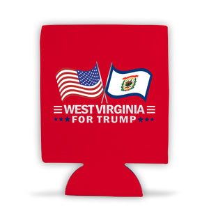 West Virginia For Trump Limited Edition Can Cooler 4 Pack