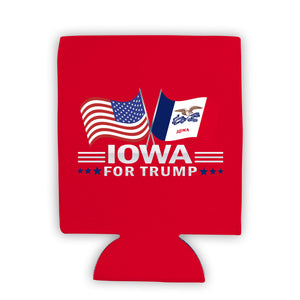 Iowa For Trump Limited Edition Can Cooler 4 Pack