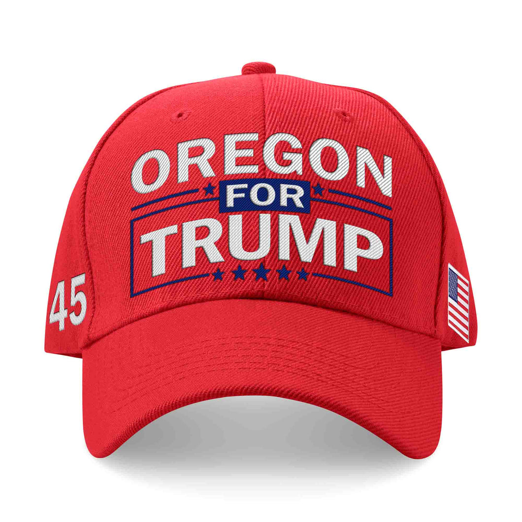 Oregon For Trump Limited Edition Embroidered Hat Sale