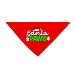 Santa Paws Christmas Dog Bandana