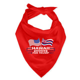 Hawaii For Trump Dog Bandana Limited Edition Sale
