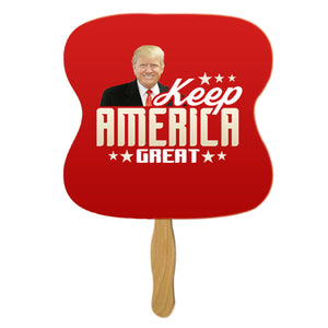 Keep America Great Personal Hand Fan