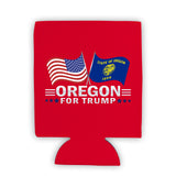 Oregon For Trump Limited Edition Can Cooler 6 Pack