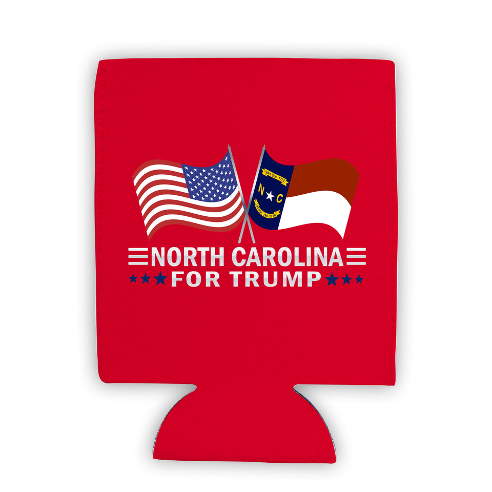 North Carolina For Trump Limited Edition Can Cooler Lowest Price Ever!