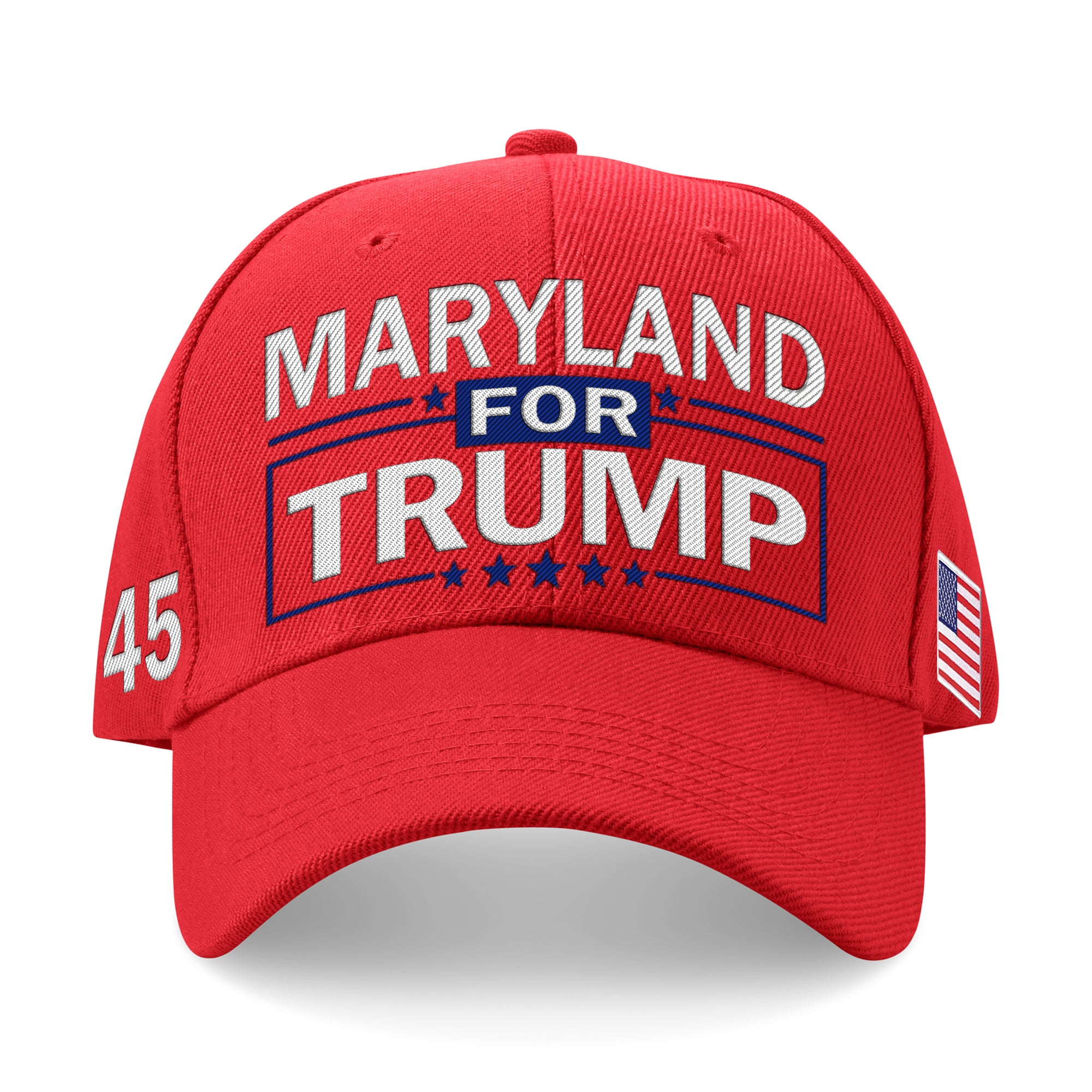 Maryland For Trump Limited Edition Embroidered Hat