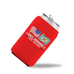 Delaware For Trump Limited Edition Can Cooler 6 Pack