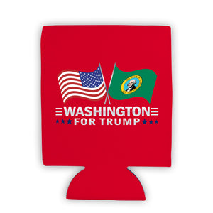 Washington For Trump Limited Edition Can Cooler