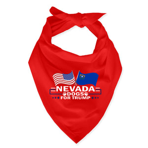 Nevada For Trump Dog Bandana Limited Edition
