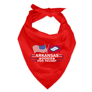 Arkansas For Trump Dog Bandana Limited Edition Lowest Price Ever!