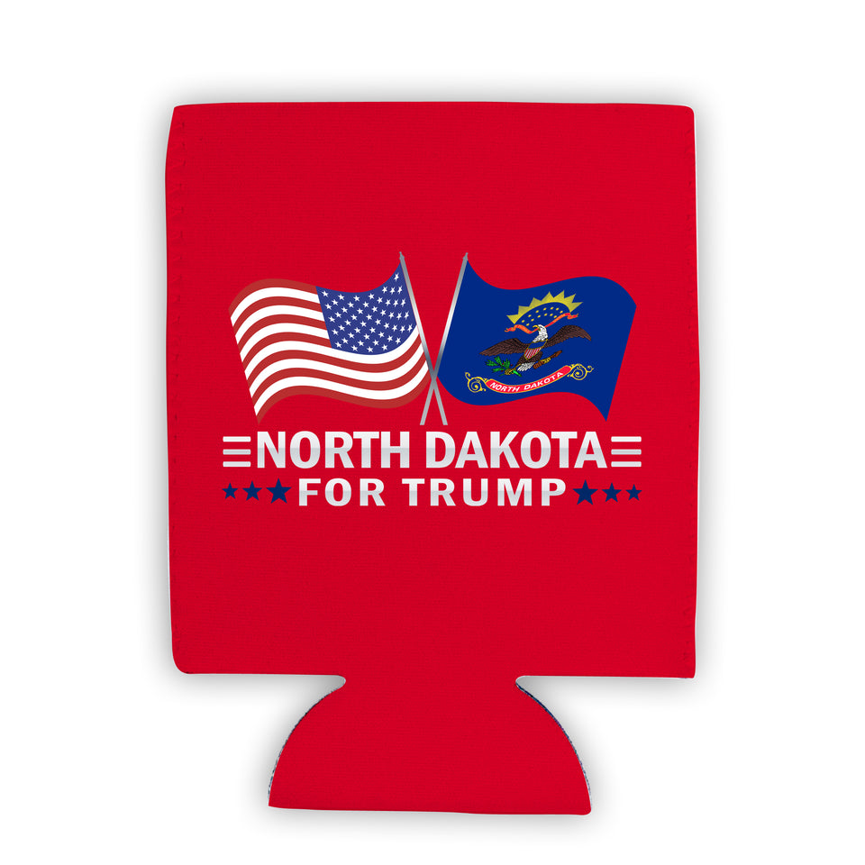 North Dakota For Trump Limited Edition Can Cooler