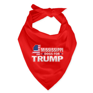 Mississippi For Trump Dog Bandana Limited Edition
