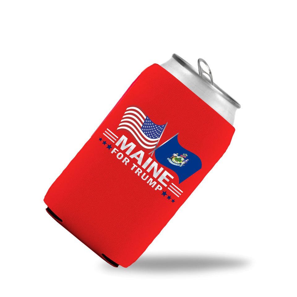 Maine For Trump Limited Edition Can Cooler 6 Pack