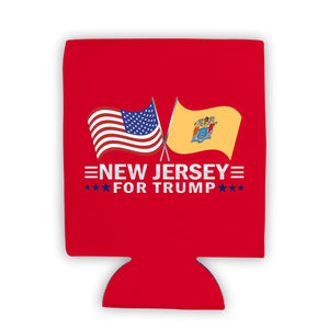 New Jersey For Trump Limited Edition Can Cooler