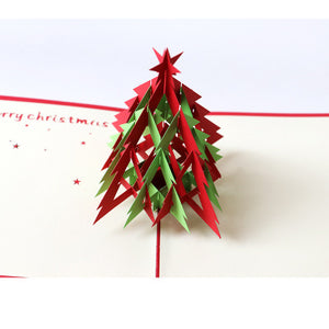 Christmas Tree Pop Up Christmas Card