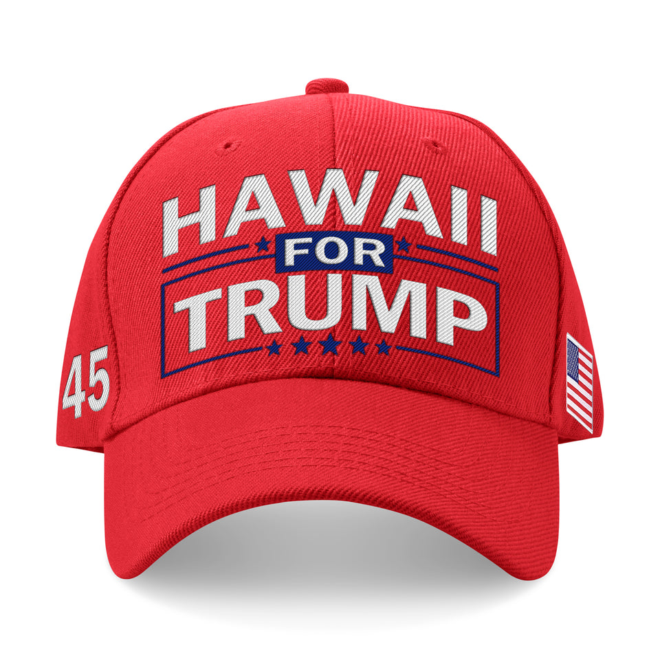 Hawaii For Trump Limited Edition Embroidered Hat Lowest Price Ever!