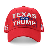 Texas For Trump Limited Edition Embroidered Hat