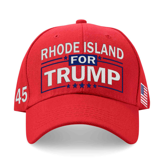 Rhode Island For Trump Limited Edition Embroidered Hat Lowest Price Ever!
