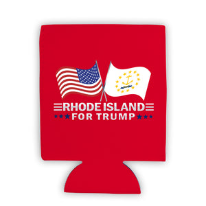 Rhode Island For Trump Limited Edition Can Cooler 6 Pack
