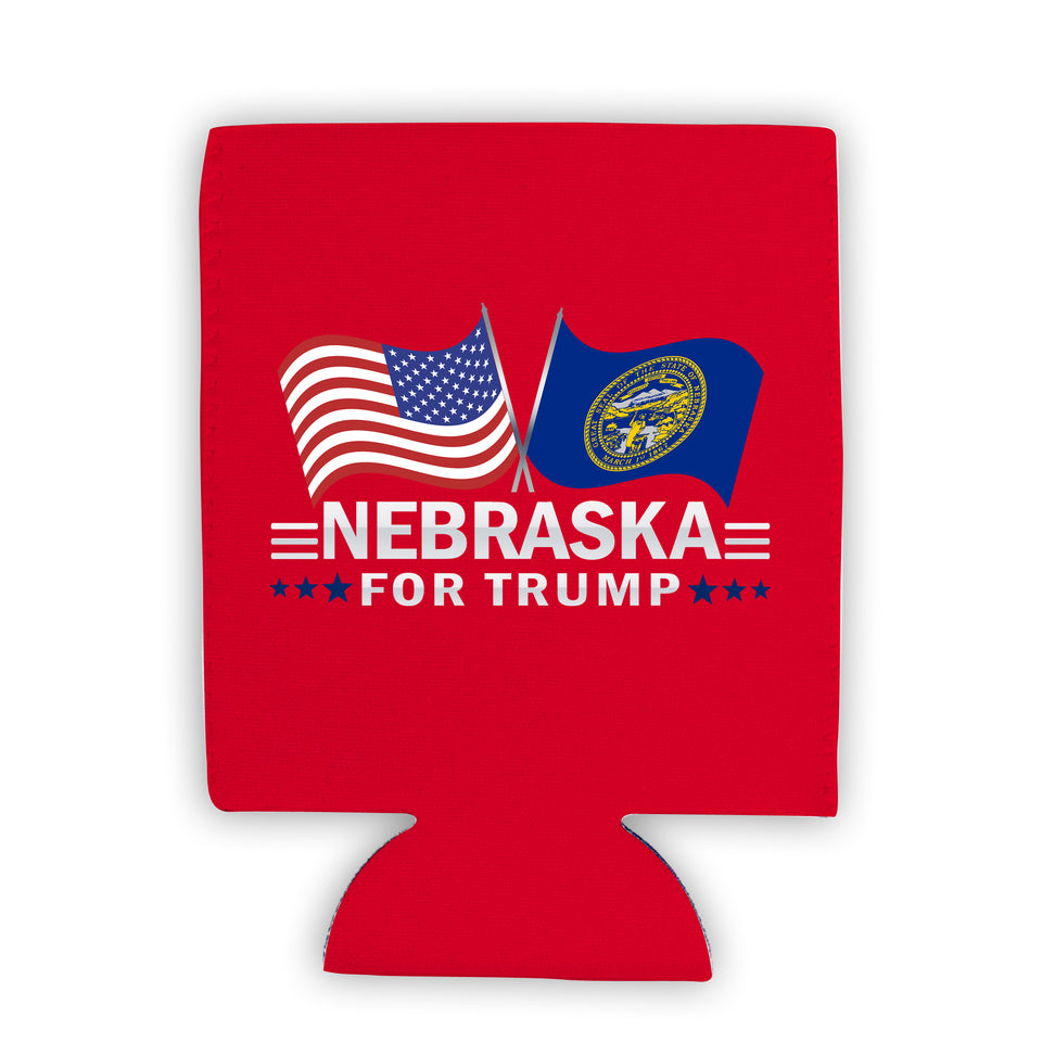 Nebraska For Trump Limited Edition Can Cooler
