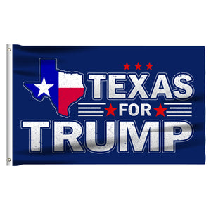 Texas For Trump 3 x 5 Flag - Limited Edition State Of Texas