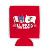 Illinois For Trump Limited Edition Can Cooler 4 Pack