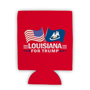 Louisiana For Trump Limited Edition Can Cooler 4 Pack