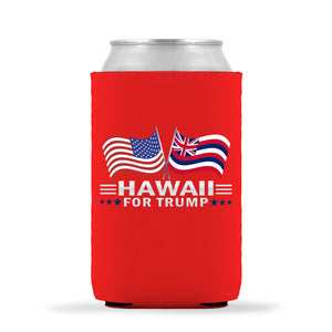 Hawaii For Trump Limited Edition Can Cooler