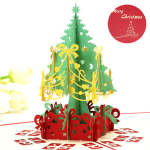 Free Christmas Pop Up Cards - Just Pay Shipping & Handling $3.95 Per Card
