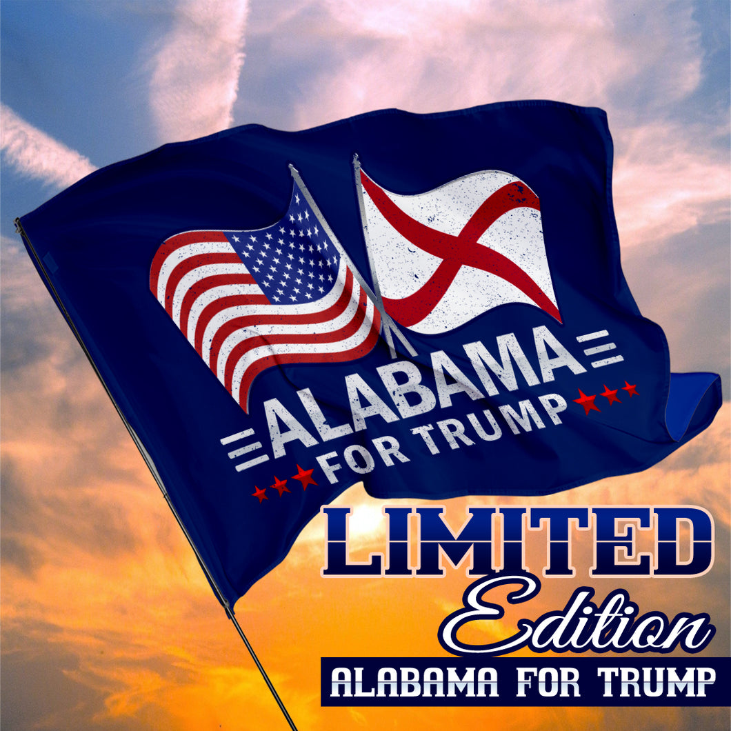 Alabama For Trump 3 x 5 Flag - Limited Edition Dual Flags