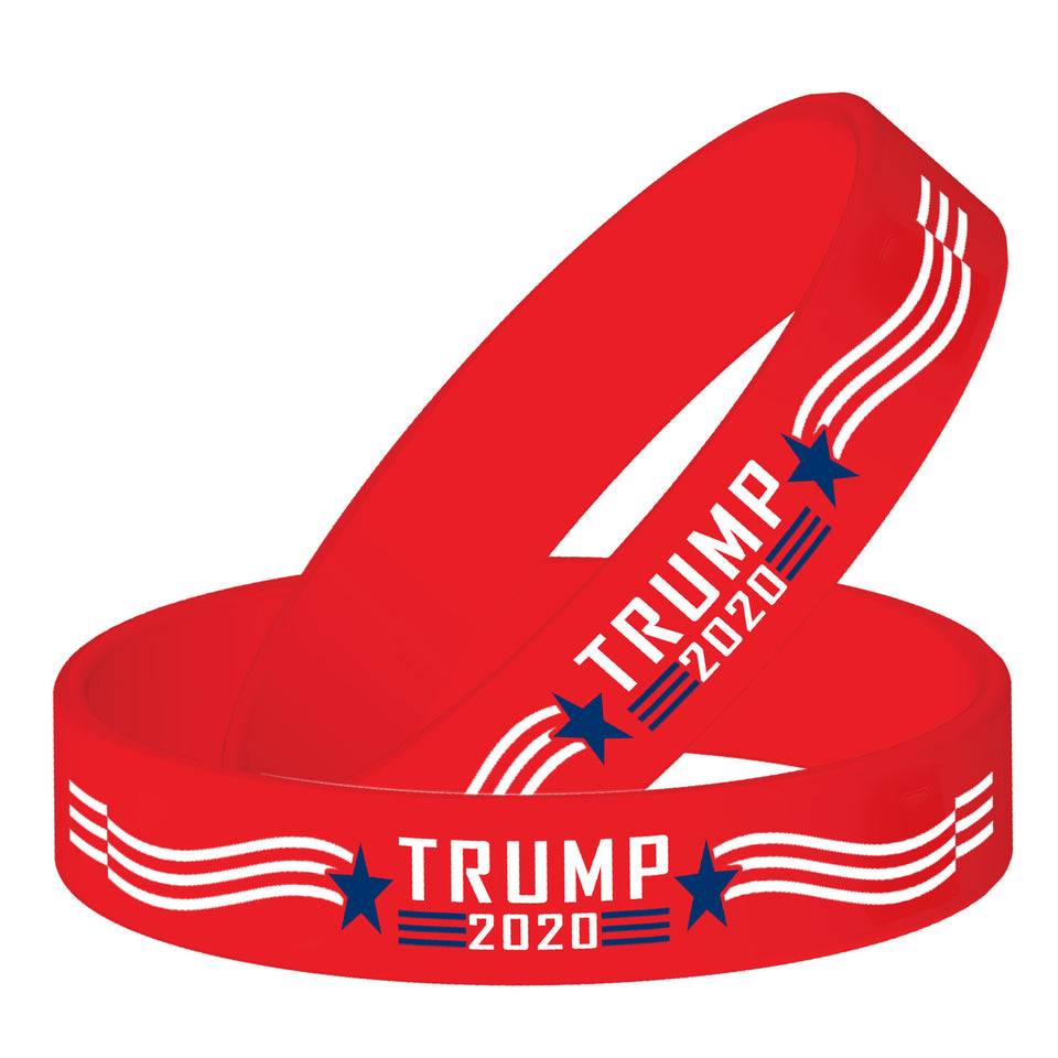 Trump 2020 Silicone Wristbands Sale