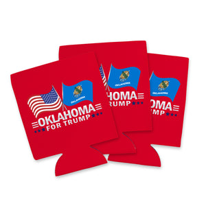 Oklahoma For Trump Limited Edition Can Cooler