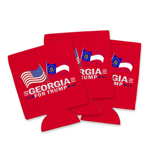 Georgia For Trump Limited Edition Can Cooler 6 Pack