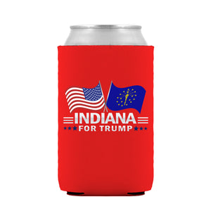 Indiana For Trump Limited Edition Can Cooler 4 Pack