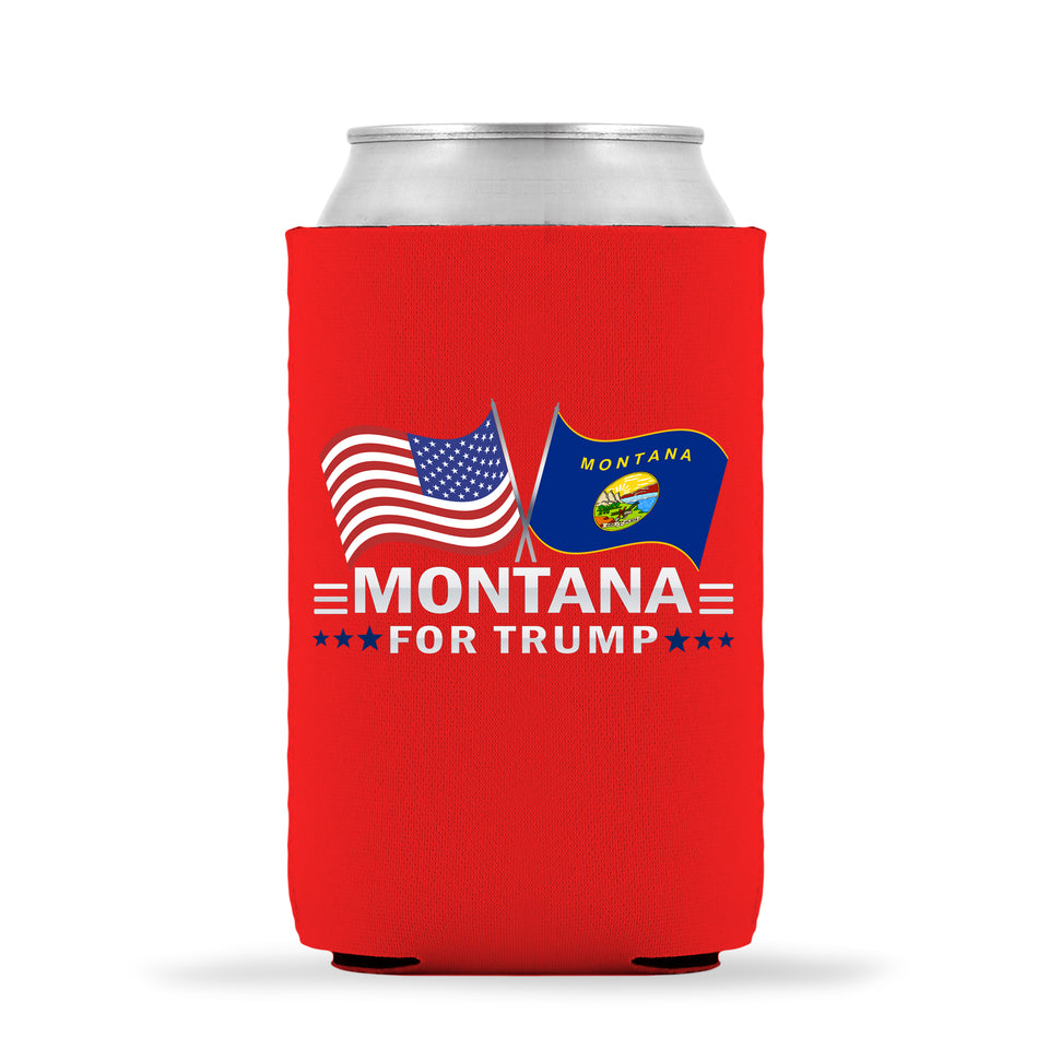 Montana For Trump Limited Edition Can Cooler 6 Pack