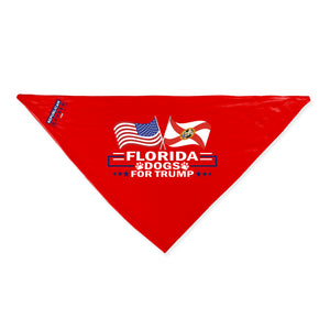 Florida For Trump Dog Bandana Limited Edition Sale