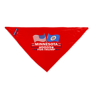Minnesota For Trump Dog Bandana Limited Edition