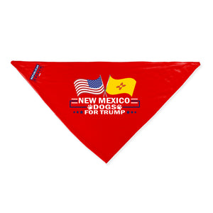 New Mexico For Trump Dog Bandana Limited Edition