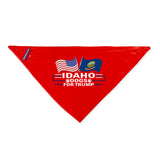 Idaho For Trump Dog Bandana Limited Edition Lowest Price Ever!